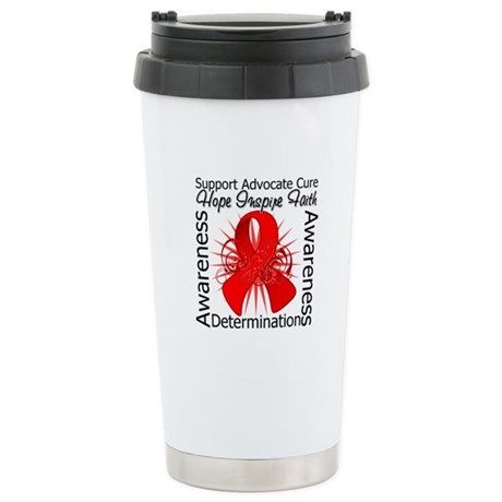 AIDS Hope Inspiring Ceramic Travel Mug