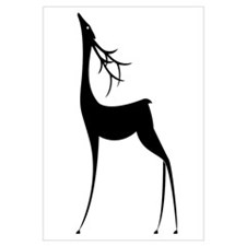 Elegant Reindeer Games Wall Art