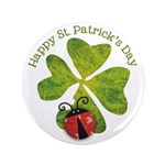"St. Patricks Day 3.5"" Button"