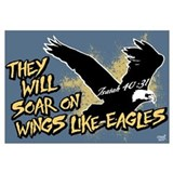 Soar on Wings like Eagles Wall Art