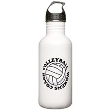 Womens Volleyball Coach Gift Water Bottle