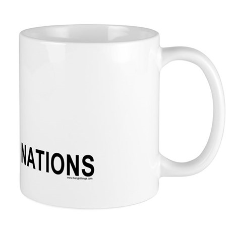 Piss On United Nations Mug