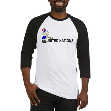 Piss On United Nations Baseball Jersey