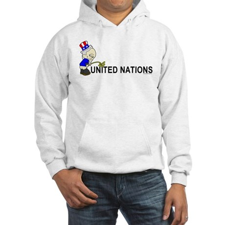 Piss On United Nations Hooded Sweatshirt