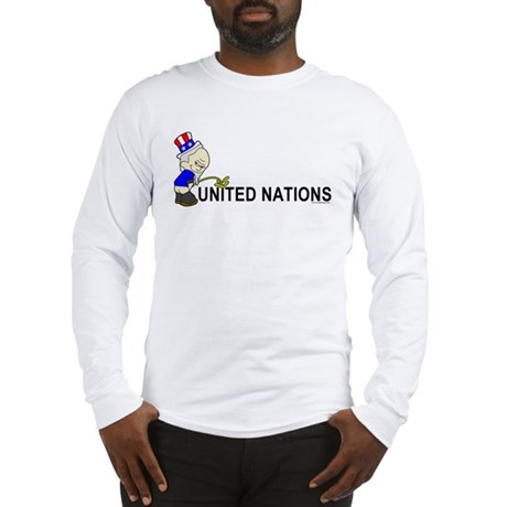 Piss On United Nations Long Sleeve T-Shirt