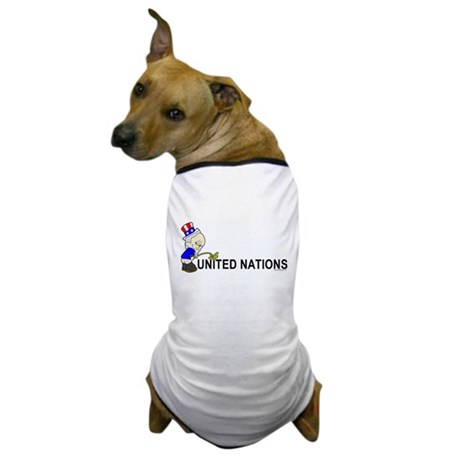 Piss On United Nations Dog T-Shirt