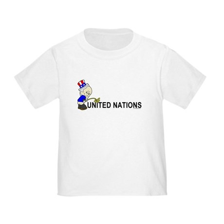 Piss On United Nations Toddler T-Shirt