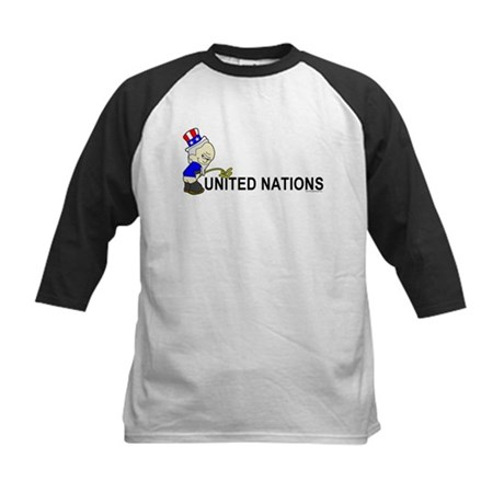 Piss On United Nations Kids Baseball Jersey