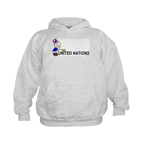 Piss On United Nations Kids Hoodie