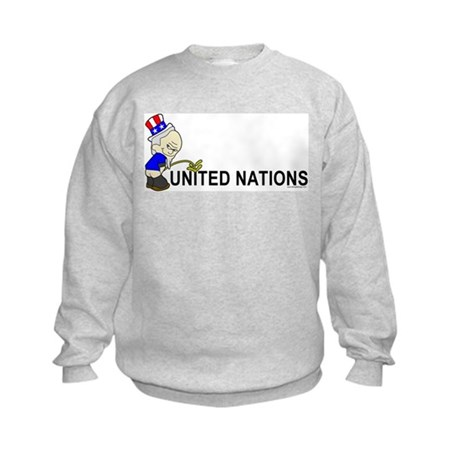 Piss On United Nations Kids Sweatshirt