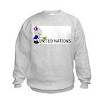 Piss On United Nations Kids Sweatshirt