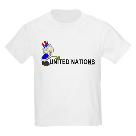 Piss On United Nations Kids T-Shirt