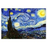 Van Gogh - Starry Night Wall Art