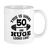 50th birthday Small Mug (11 oz)