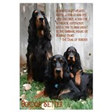 Gordon Setter Clan Wall Art