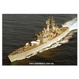 USS CALIFORNIA Wall Art