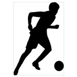 Soccer player Wall Art