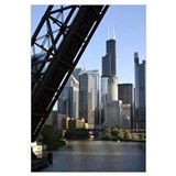 Sears Tower Drawbridge Wall Art