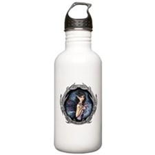 Gothic Fairy and Dragon Fantasy Art Water Bottle