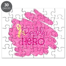 Daddy is my Hero *pink Puzzle