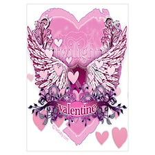 Twilight Valentine Heart Wings Wall Art