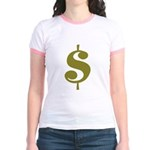 Dollar Sign Jr. Ringer T-Shirt