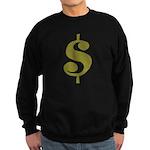 Dollar Sign Sweatshirt (dark)