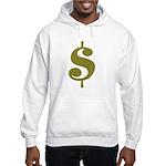 Dollar Sign Hooded Sweatshirt