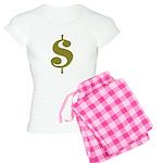 Dollar Sign Women's Light Pajamas