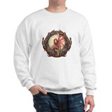 Autumn Red Gothic Fairy Art Sweatshirt