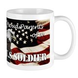 Proud Parents of a US Soldier Mug