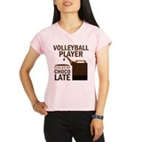 Volleyball Player Gift Chocoholic Performance Dry