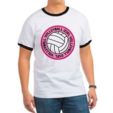Volleyball Girl Fan Gift T