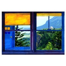 Window on the Gorge - Wall Art