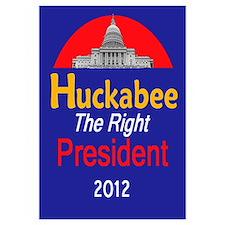 Huckabee 2012 Wall Art