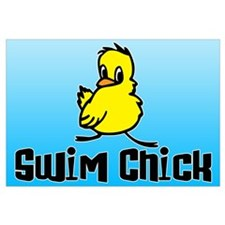 Swim Chick Wall Art