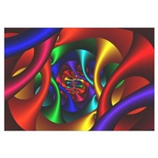 """Color 2"" Fractal Art Wall Art"