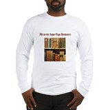 Funny Bookstore Long Sleeve T-Shirt