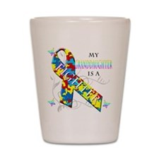 My Granddaughter is a Fighter Shot Glass