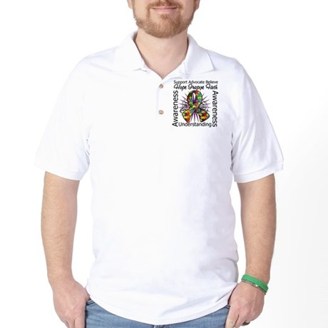 Autism Hope Inspiring Golf Shirt