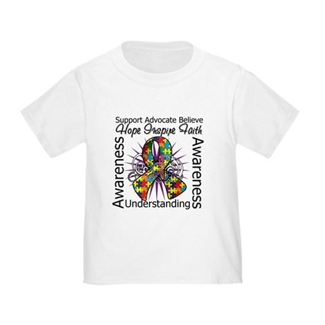 Autism Hope Inspiring Toddler T-Shirt