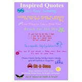 Inspired Quotes Wall Art