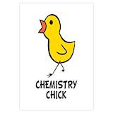 Chemistry chick Wall Art