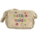 Matron of Honor Messenger Bag