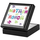 Matron of Honor Keepsake Box