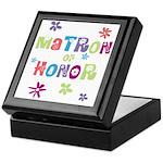 Matron of Honor Keepsake Box