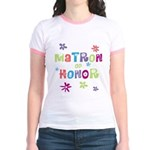 Matron of Honor Jr. Ringer T-Shirt