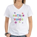 Matron of Honor Women's V-Neck T-Shirt