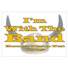 I'm with the Viking Band Wall Art