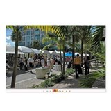 Las Olas Art Fair Print 1 Postcards (Package of 8)